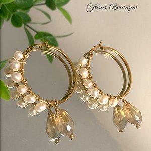 ✨Pearl Earrings (Stainless Steel )